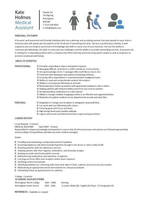 Medical Assistant Resume Samples mobile discoveries
