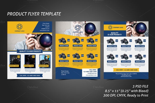 Product Flyer Design mobile discoveries