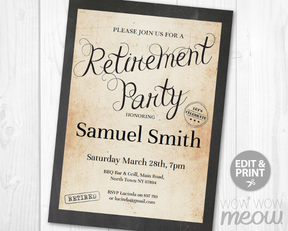 Retirement Flyer Free Template mobile discoveries