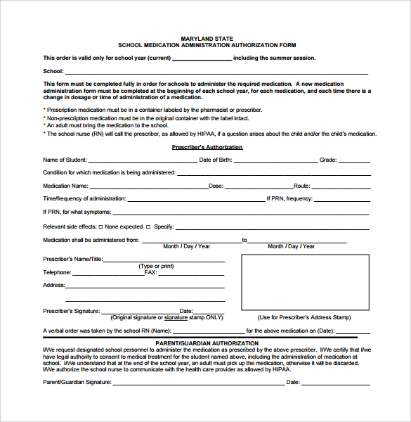 School Medical Form mobile discoveries