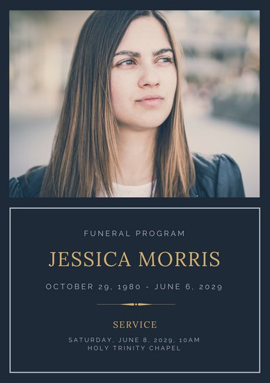 Funeral Program Cover mobile discoveries