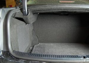 Custom sub enclosure for  Lexus IS250