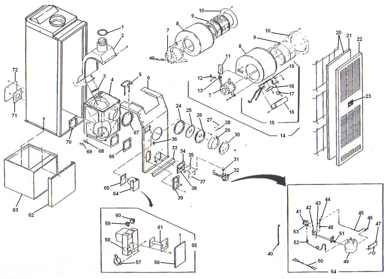 miller furnace parts