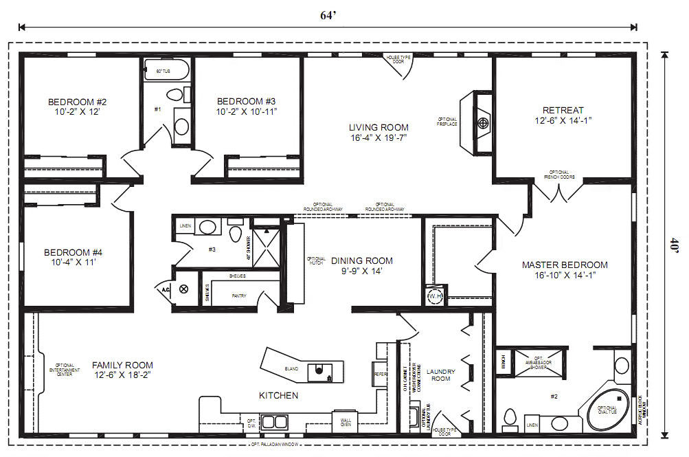 modular home plans bedrooms mobile homes ideas home floor plans home interior design