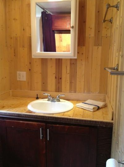 1973 pmc mobile home remodel for Remodeling a mobile home bathroom ideas