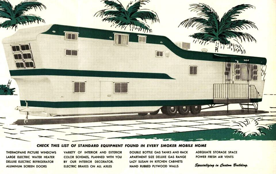 popular vintage advertisements story mobile remodeling tri level home home decorating ideas
