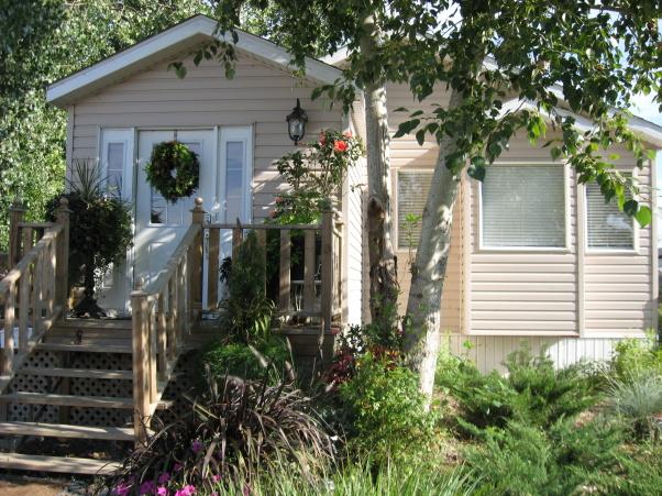 mobile home landscaping for shady areas