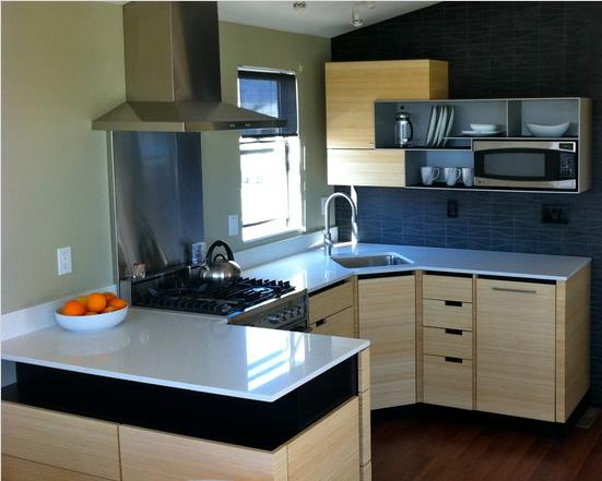 A modern single wide remodel for Mobile home kitchens pictures