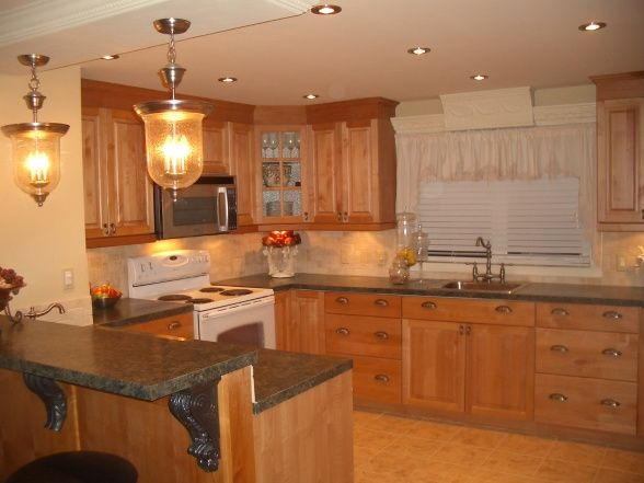 extreme manufactured home kitchen remodel after