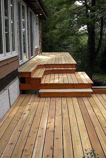 45 great manufactured home porch designs for Modular decks