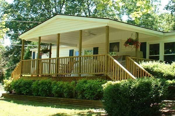 45 great manufactured home porch designs. Black Bedroom Furniture Sets. Home Design Ideas