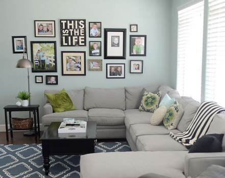 Create an Awesome Gallery Wall for Less Than $50! Mobile Home Living