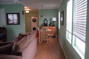 manufactured home remodel - living room