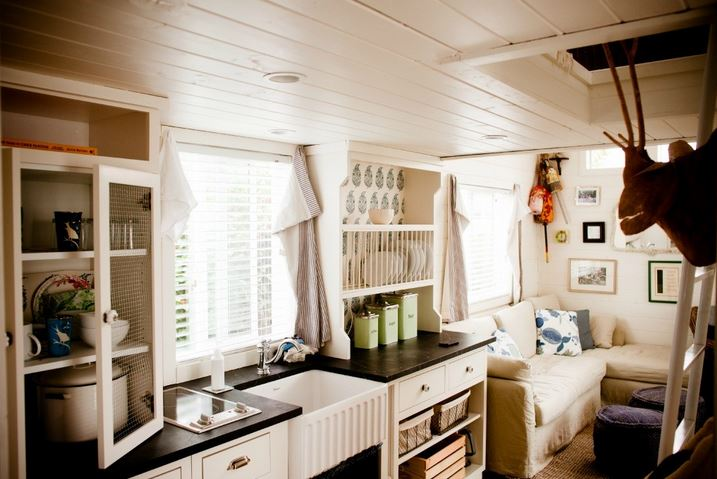 Park model home decorating ideas beach cottage chic Interior design ideas for a mobile home