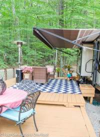 Awesome RV Deck Design Ideas + How to Build a Deck ...
