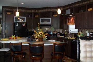 Stylish Single Wide Manufactured Home Interior Decor Inspiration - 2013 Giles - Dining and Kitchen
