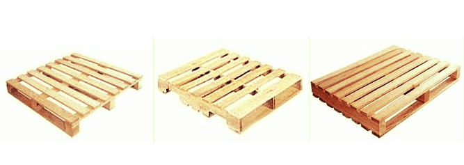 Building with pallets, Different Types