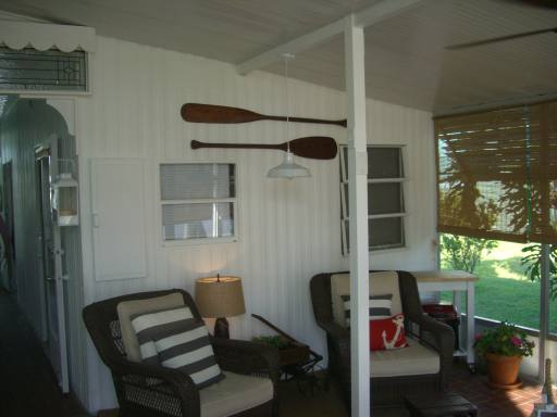 Cottage style manufactured home decor featured home covered porch