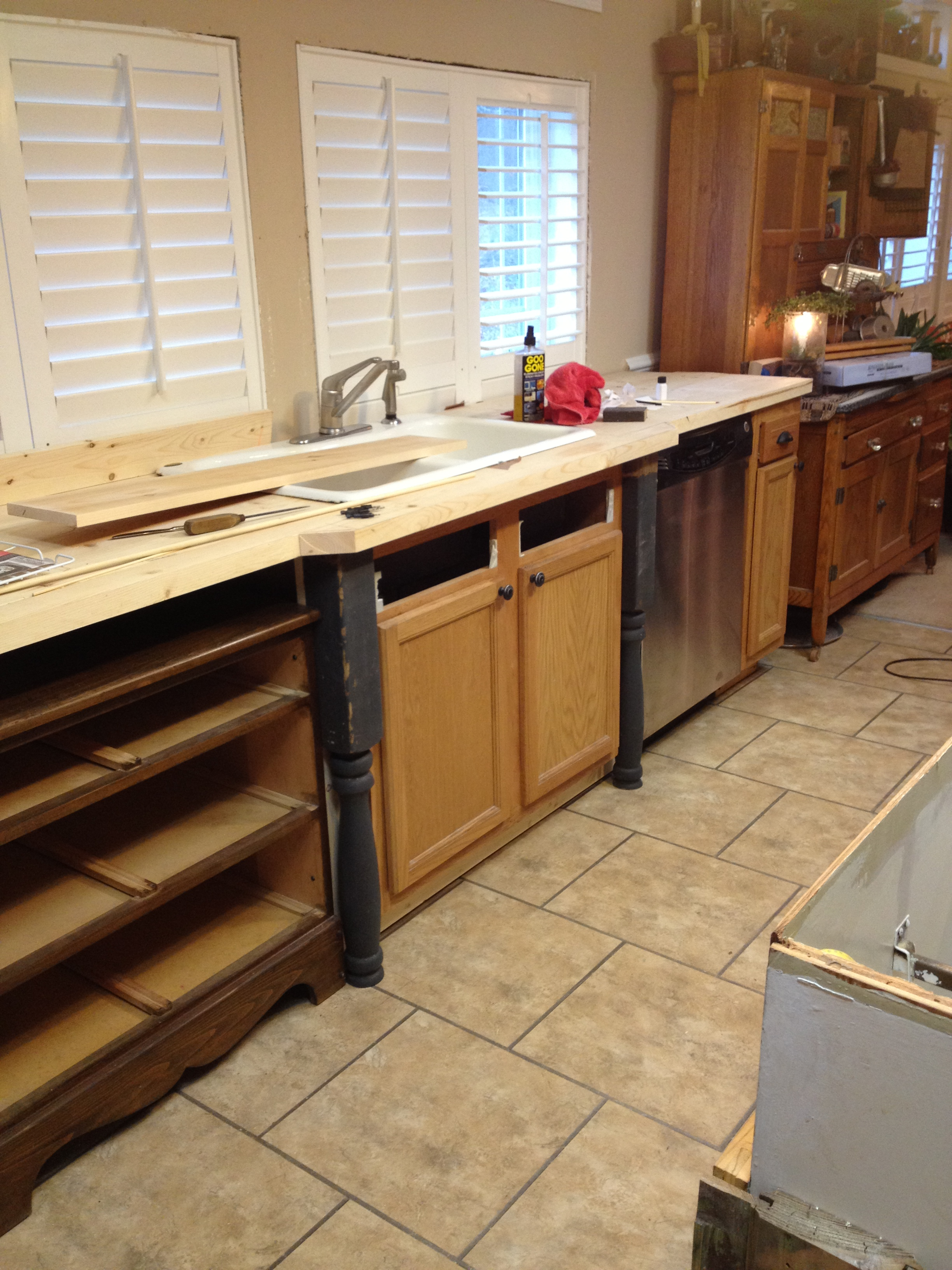 How To Paint Kitchen Cabinets In Mobile Home Old World Manufactured Home Kitchen Remodel