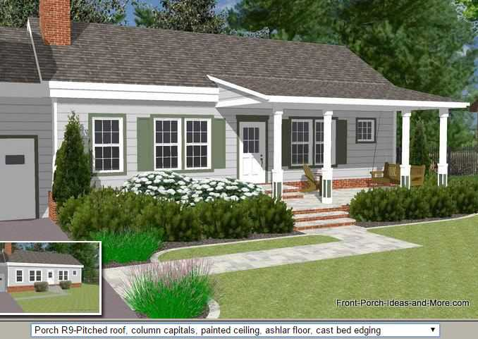 45 great manufactured home porch designs Front porch without roof