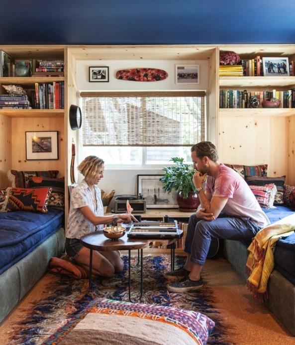Modern Malibu Mobile Home Makeover