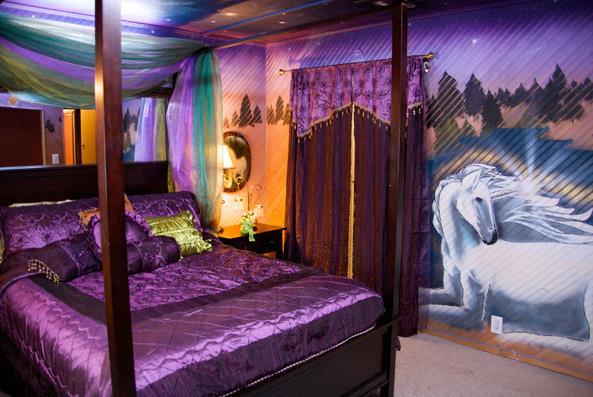 mobile home kids bedroom ideas - girls