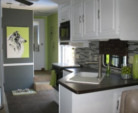 modern rv camper kitchen design