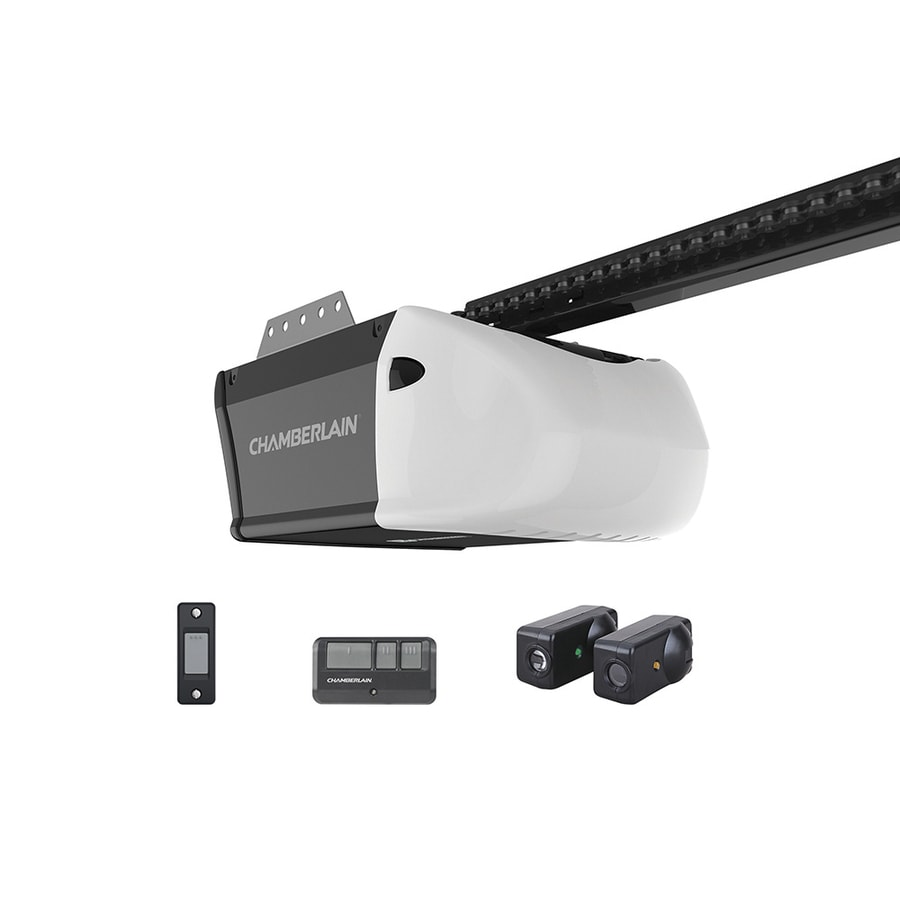 Garage Door Opener Lowes Chamberlain 5 Hp Chain Drive Garage Door Opener At Lowes