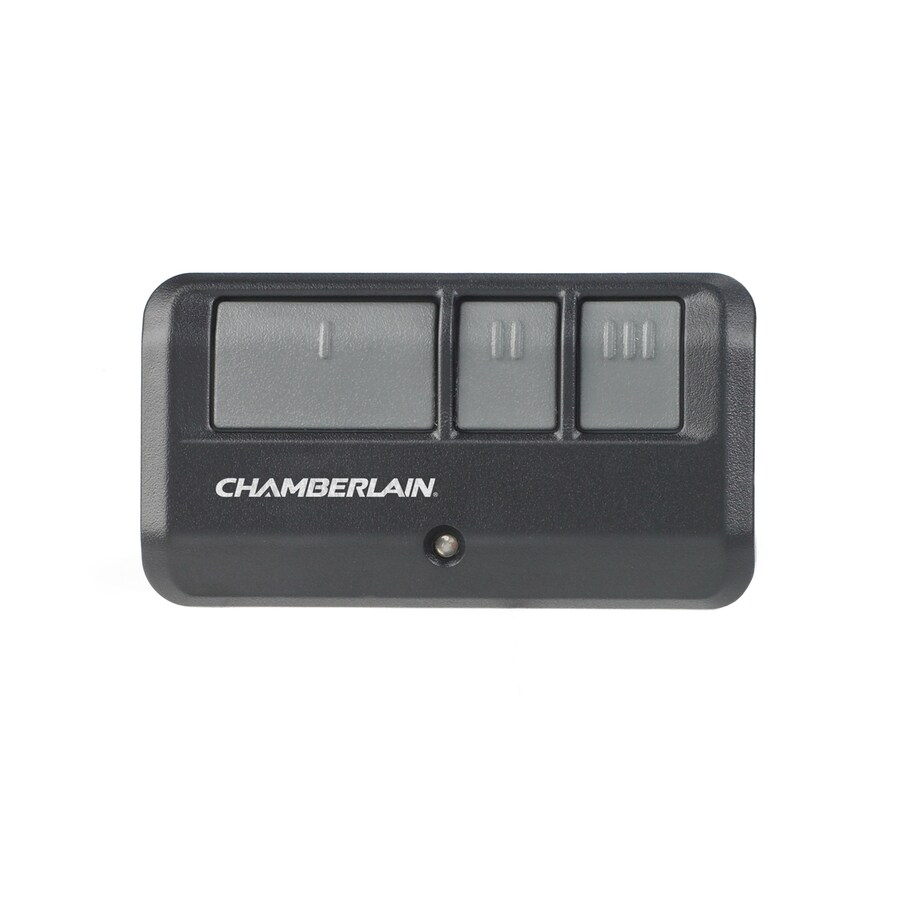Garage Door Opener Lowes Chamberlain 3 Button Visor Garage Door Opener Remote At Lowes