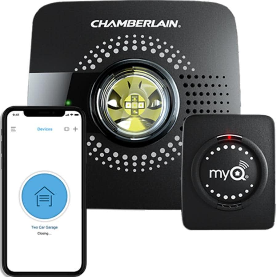 Auto Accessories Garage Military Discount Chamberlain Myq Universal Smart Garage Hub At Lowes