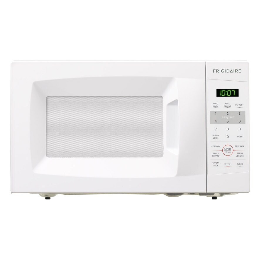 Lowes Countertop Microwaves Frigidaire 7 Cu Ft 700 Watt Countertop Microwave White At