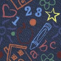 Shop Joy Carpets 5-Pack 39.4-in x 39.4-in Kid's Art ...