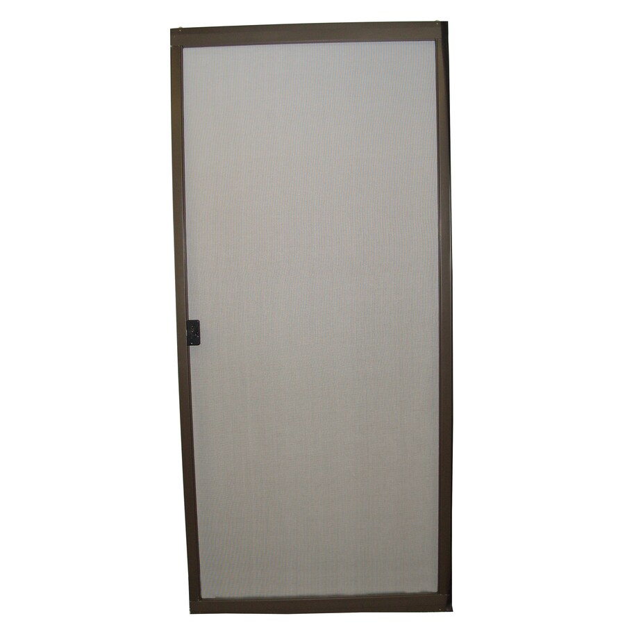 Shop RITESCREEN Steel Sliding Screen Door (Common: 48