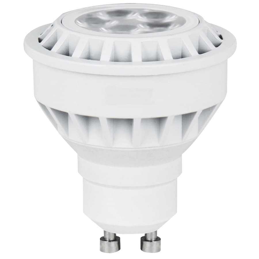 Led Spot Gu10 Utilitech 5 Watt Gu10 Pin Base Warm White Indoor Led Spotlight