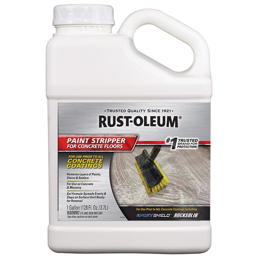 Paint Stripper Rust Oleum 128 Fl Oz Liquid Concrete Paint Remover At Lowes