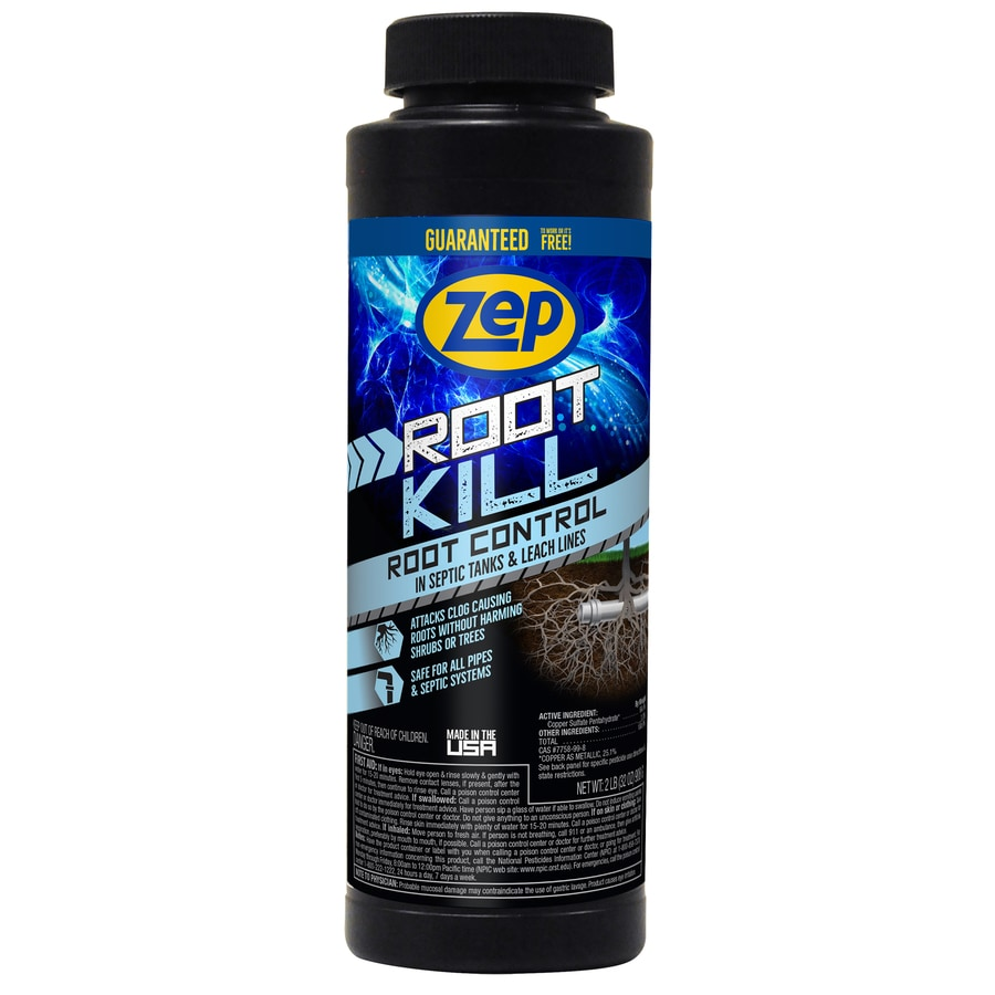 Sewage Cleaner Zep Root Kill 32 Oz Drain Cleaner At Lowes