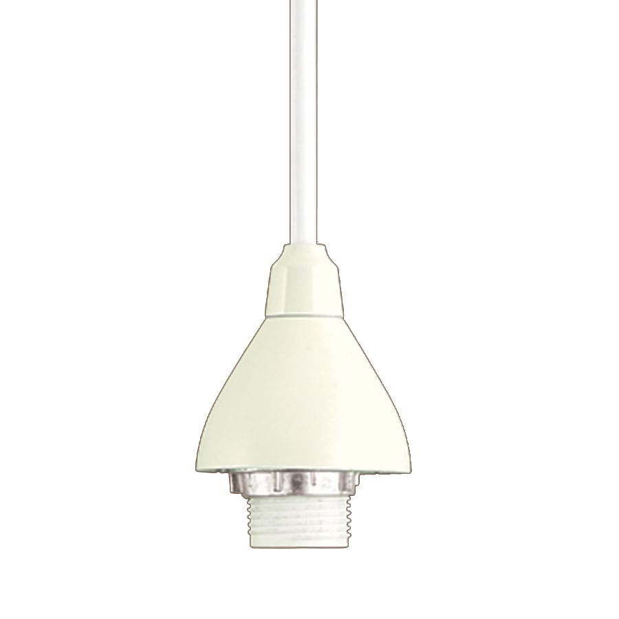 Pendant Track Lights Project Source 1 Light Dimmable Matte White Bell Linear Track