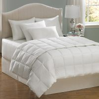 Shop Aller-Ease Hot Water Wash White Full/Queen Comforter ...