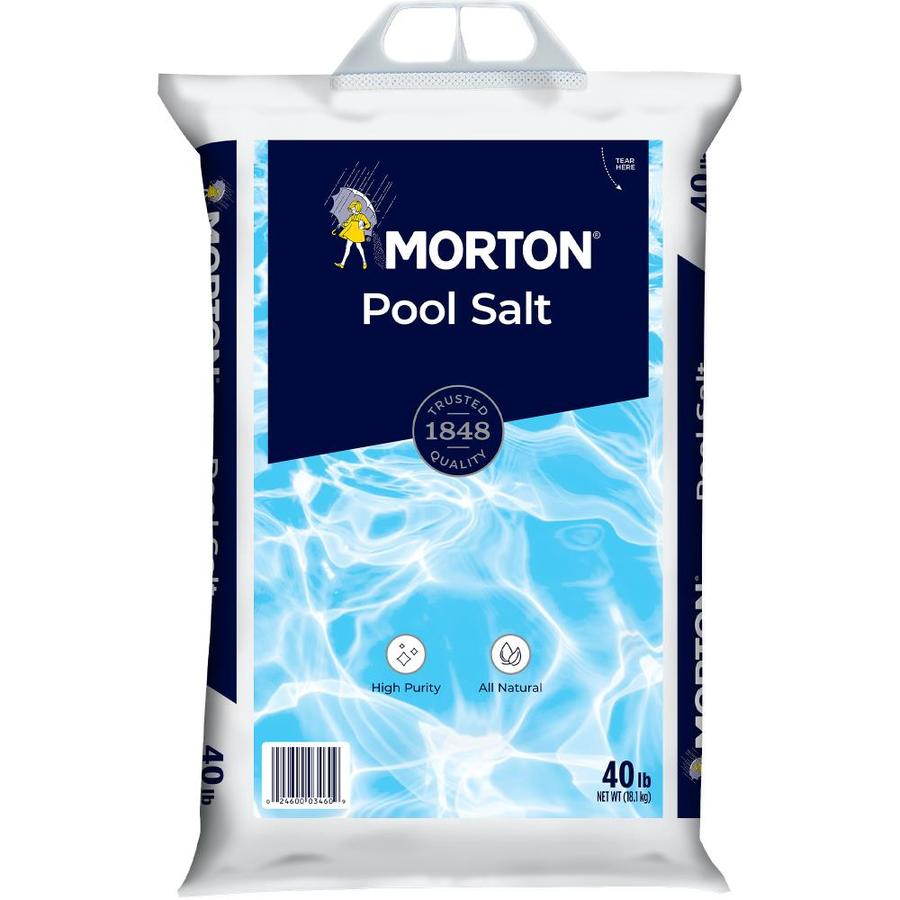 Sal Para Piscina Morton 40 Lb Pool Salt At Lowes