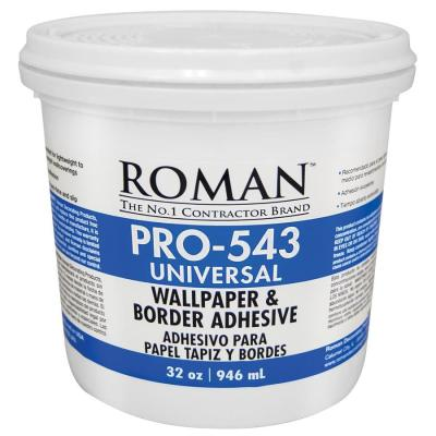 Shop Roman PRO-543 32-oz Liquid Wallpaper Adhesive at Lowes.com