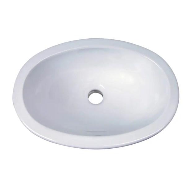 barclay lily white undermount bathroom sinks