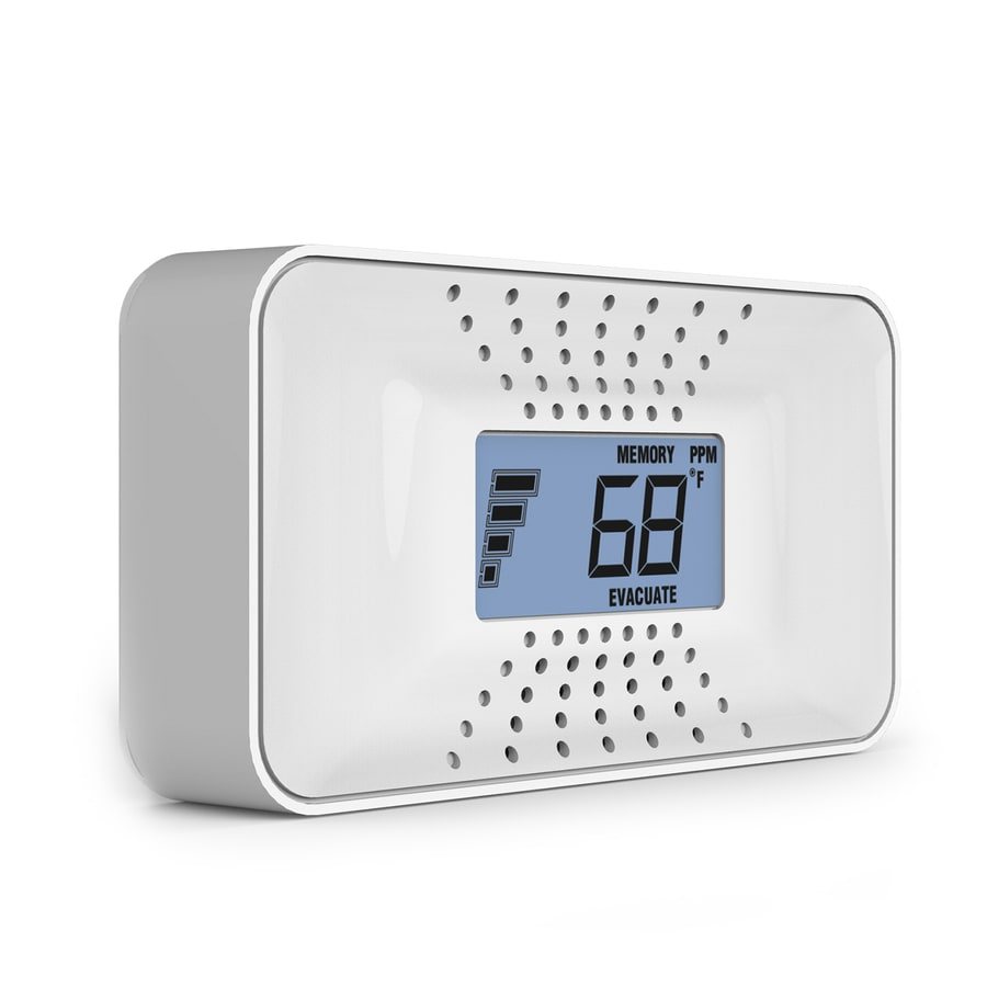 Battery Digital First Alert Battery Operated Carbon Monoxide Detector At Lowes