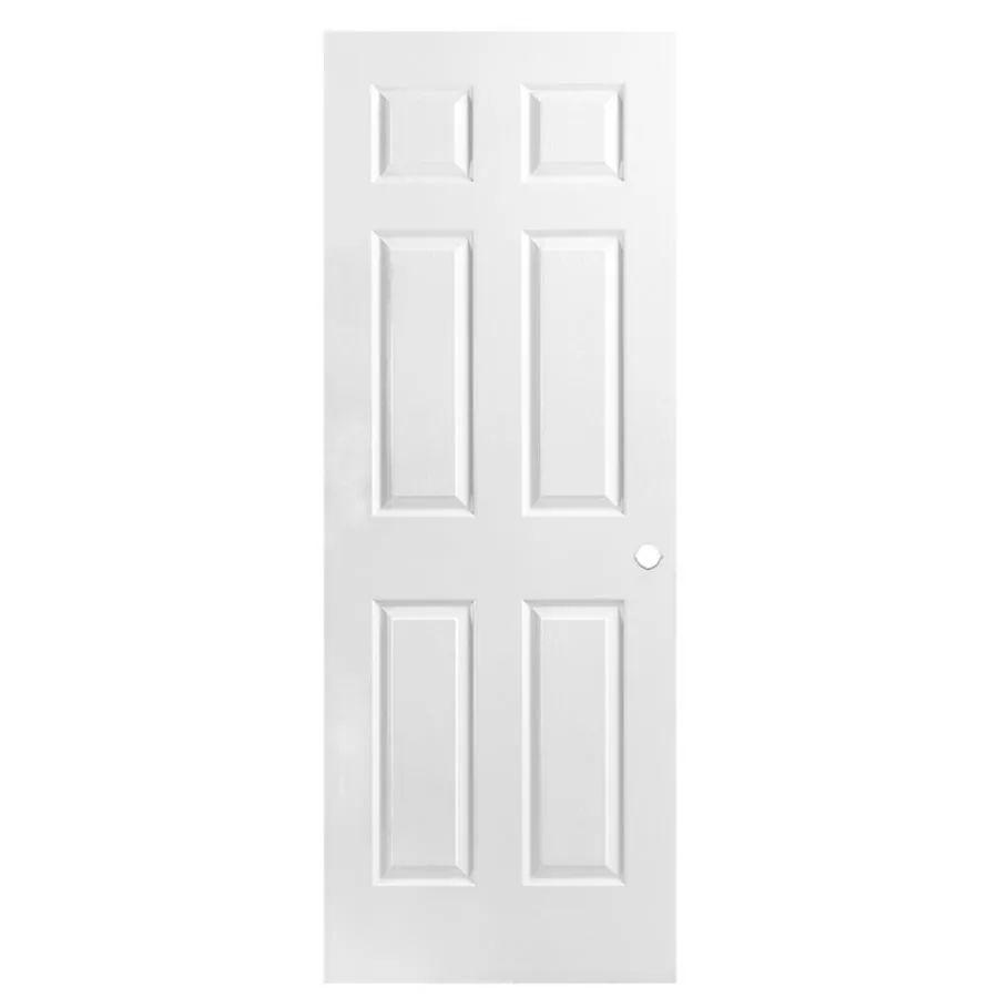 Masonite hollow core 6 panel slab interior door