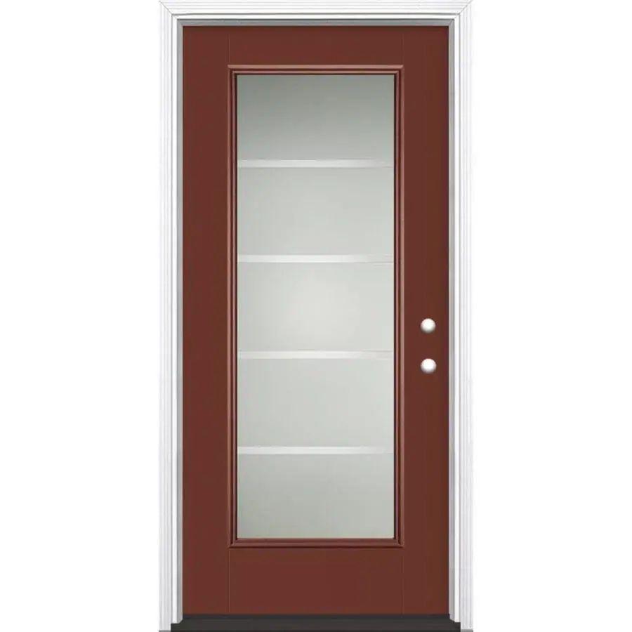 36 entry door