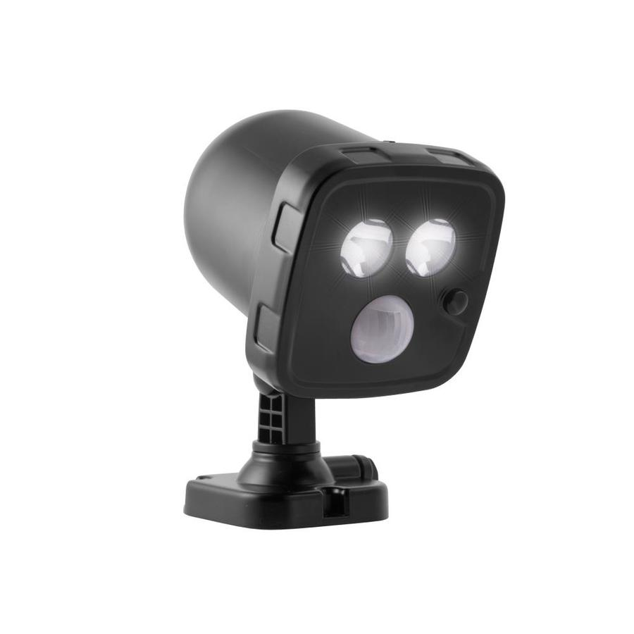 Led Spot Energizer 5 7 Watt 30 W Equivalent Black Battery Operated Led