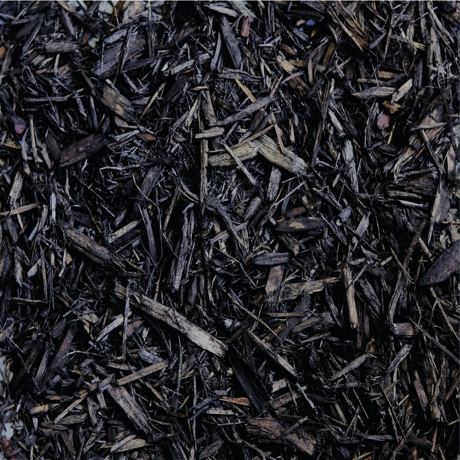 Black Bark Mulch Scotts 1 85 Cu Yd Hardwood Bark Black Bulk Mulch At Lowes