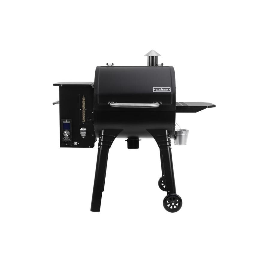 Grill 24 Camp Chef Smokepro Sg 24 811-sq In Black Pellet Grill At ...