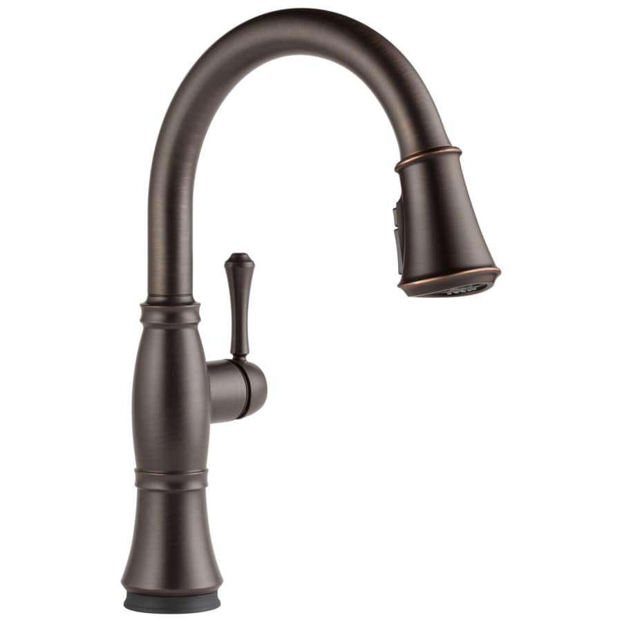 delta touch2o kitchen faucet lowe s delta trinsic kitchen faucet Delta Cidy Touch2o Venetian Bronze 1 Handle Pull Down
