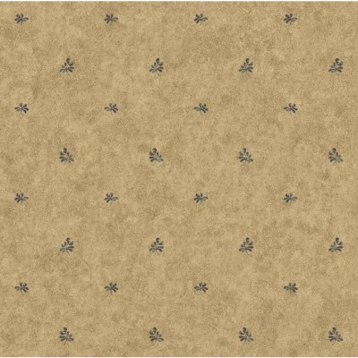 Shop York Wallcoverings Taupe Background/Blue Strippable Paper Prepasted Wallpaper at Lowes.com