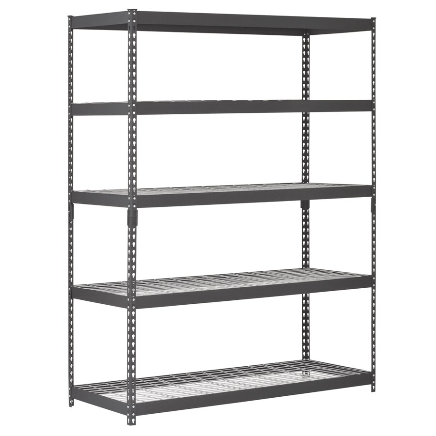 Garage Shelving Units Freestanding Shelving Units At Lowes